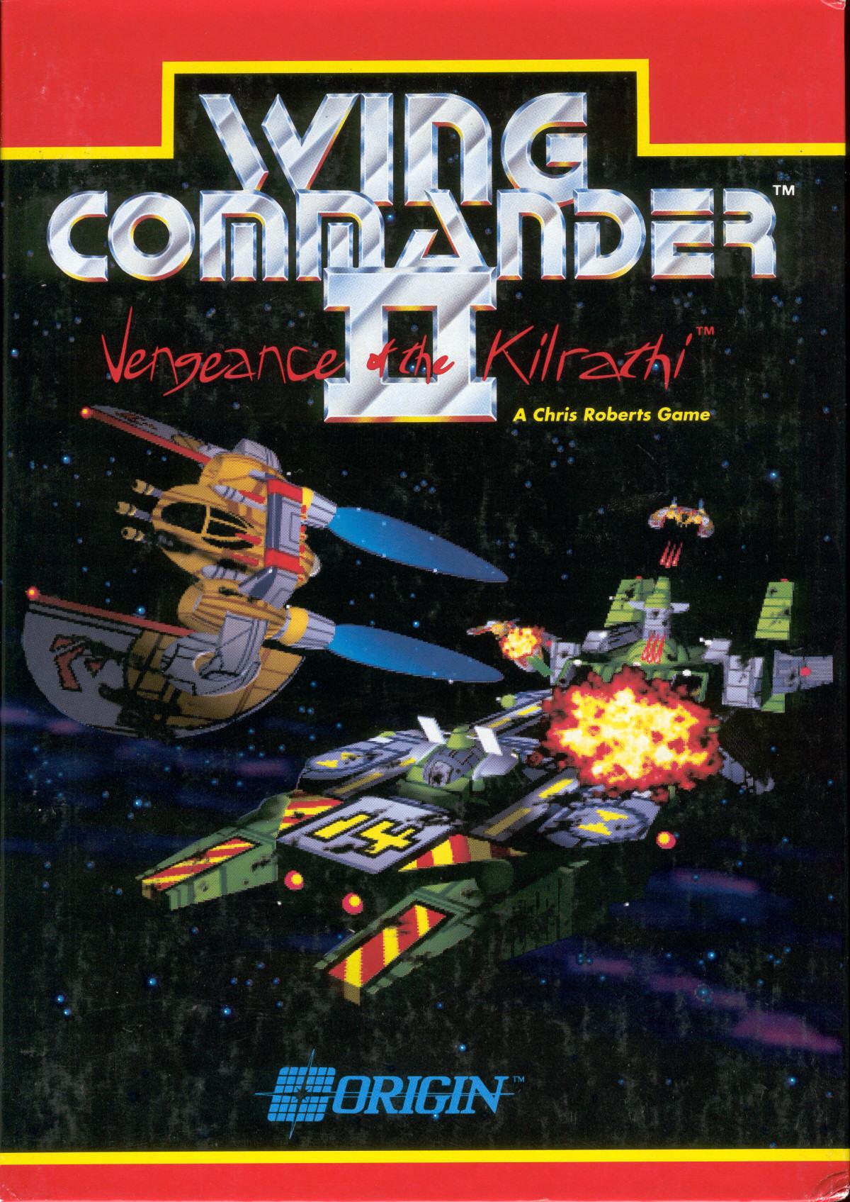 Wing commander ii box art wing commander cic for Wing commander