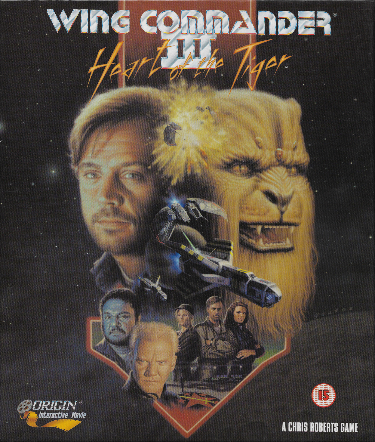 Wing commander iii heart of the tiger series background for Wing commander
