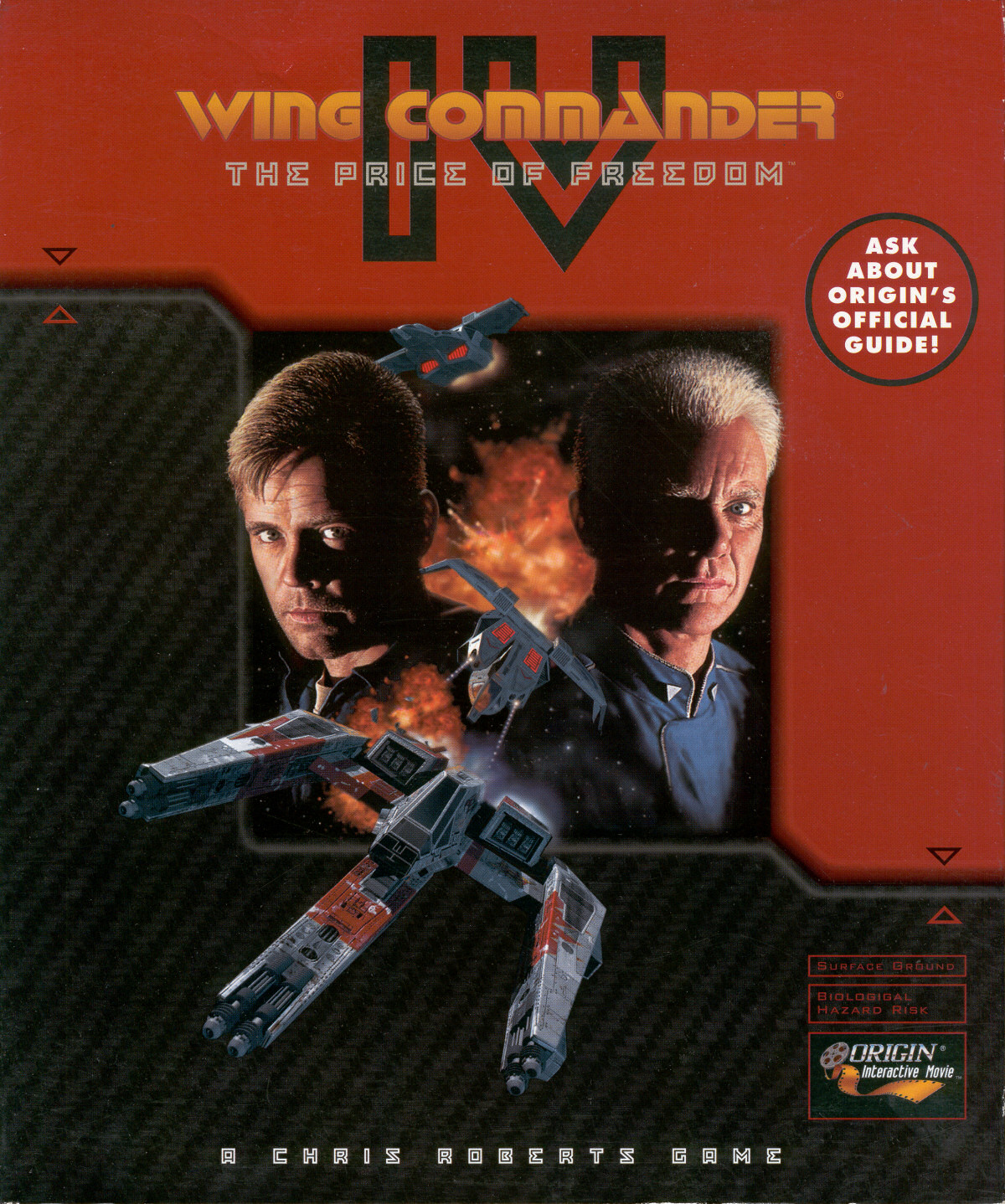 Wing commander iv the price of freedom series for Wing commander