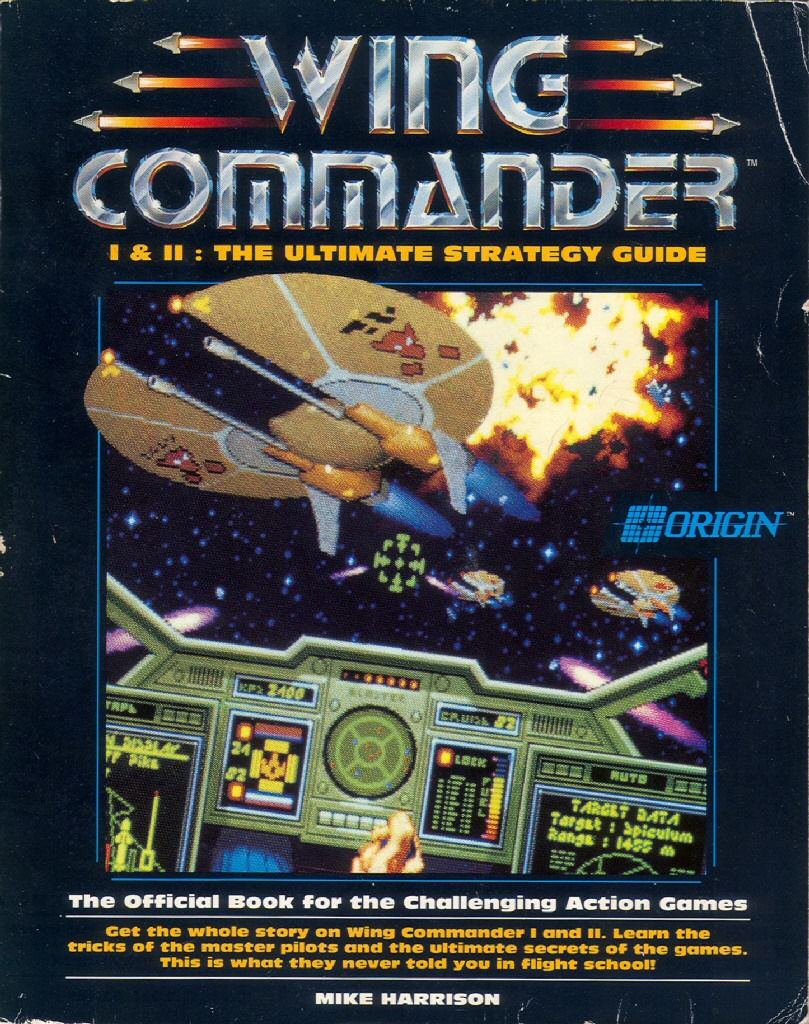 Wing commander cic merchandise books for Wing commander
