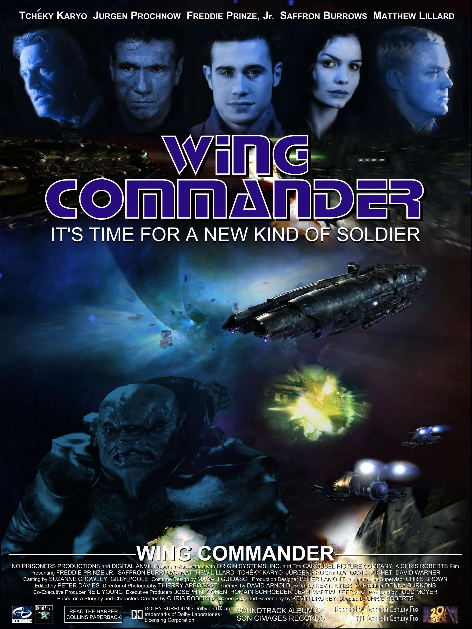 Wing commander 1999 movie for Wing commander