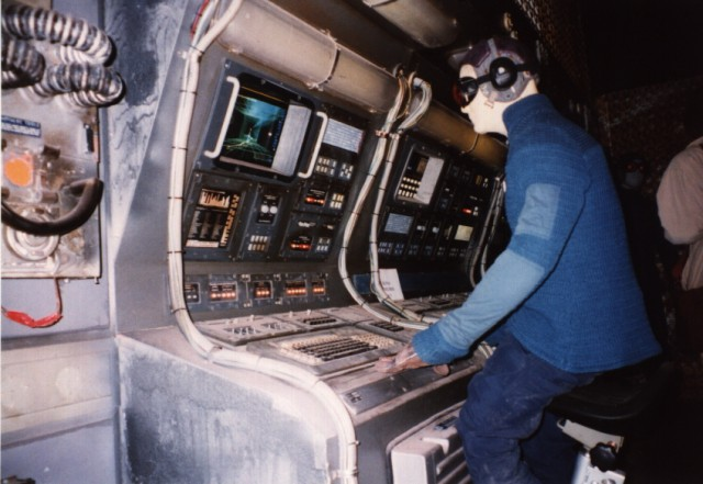 Wing commander cic movie set pictures
